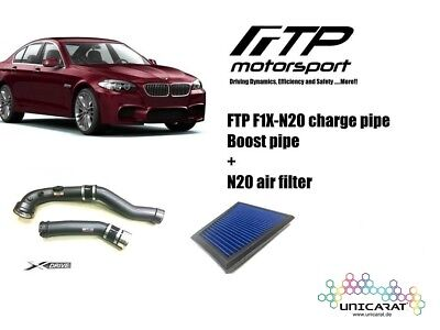 FTP BMW 5 Serie F1X N20 charge pipe + air filter Ansaugrohr + Luftfilter