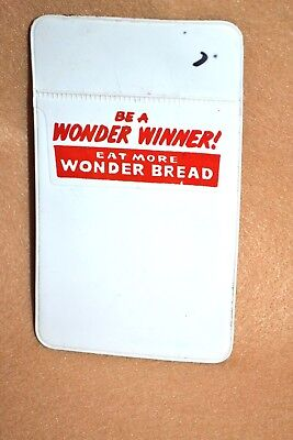 Vtg Wonder Bread Advertising Nerd Salesman Pocket Protector Pencil or Pen Holder