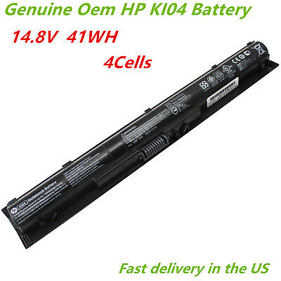 Genuine KI04 Battery HP Pavilion 800049-001 HSTNN-LB6S 14/15/17-ab000 800009-241