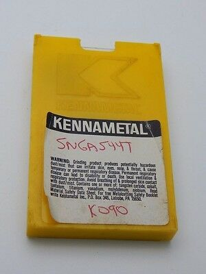 KENNAMETAL SNGA544T KY3000 K090 SNGA 544T CARBIDE INSERT Pack of 3