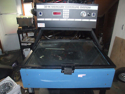 NUARC 32 1K  Mercury Exposure Unit - Screen Printing/Plate Making **parts only**