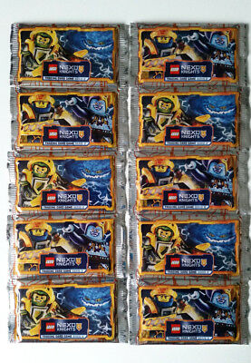 LEGO NEXO KNIGHTS SERIE 2 / 10 BOOSTER = 50 Karten in OVP! Trading Card Game