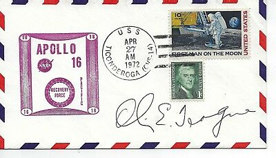 Autographed by Honorable Olin E Teague Chairman House Manned Space Flight