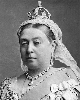 QUEEN VICTORIA OF THE UK Glossy 8x10 Photo Print Portrait Ireland Leader Poster