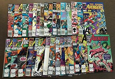 HUGE LOT of 170 Avengers Comics -- 1980s -- All Different -- All Pictured