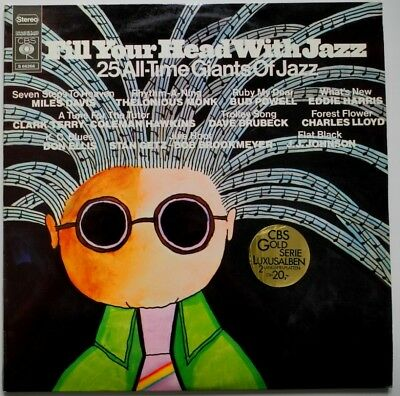 2 x LP NL**VARIOUS - FILL YOUR HEAD WITH JAZZ (CBS '70 / COMPILATION)**29472