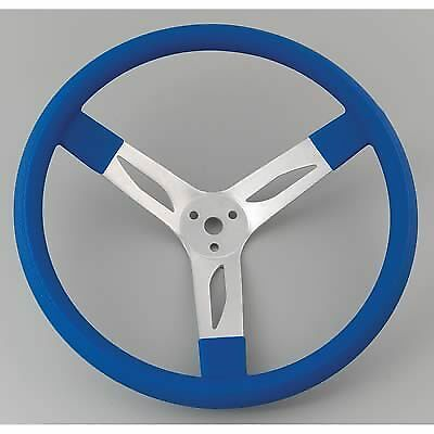 New Rebco 15 in Alum Dished Steering wheel. Blue .Late Model