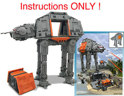 Instructions Custom Lego Star War Black Ops Republic Gunship 7676