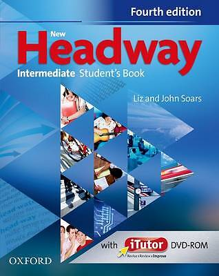 NEW HEADWAY Intermediate Fourth Edition Student's Book & iTutor DVD NEW