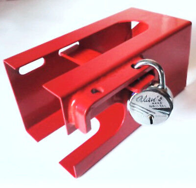 Hitch Lock Caravan Trailer Motorhome Universal Hitch Lock 50mm Coupling Security