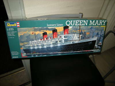 1:570 Revell Queen Mary Luxury Liner Nr. 05203 OVP
