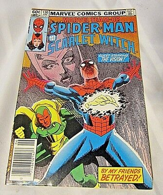 Marvel Team Up Comic #130 June 1983 Spider-Man And The Scarlet Witch FREE SHIP!!