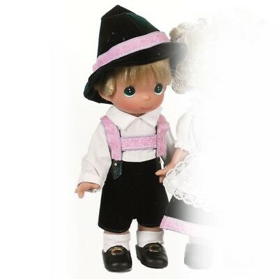 Precious Moments 9 inch Doll , Gunther, Germany, Children of the World New, 3493