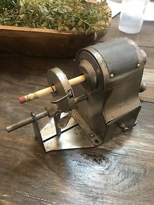 RARE 1921 Climax No. 3 Pencil Pointer Sharpener Automatic WORKS! W/ Drawer!