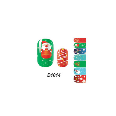 Lovely Girl's 'Art Decals Nail Wraps Sticker Adhesive Polish Foil Decoration
