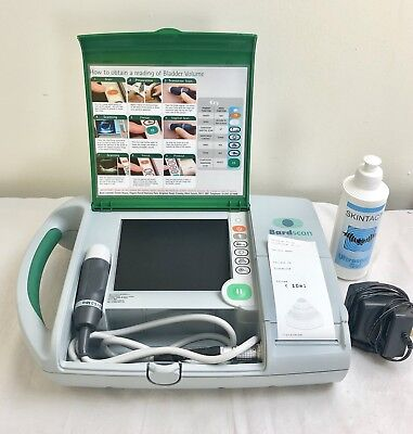 Bard Bardscan Portable Ultrasound Bladder Scanner Urology - 2016 Battery + Gel