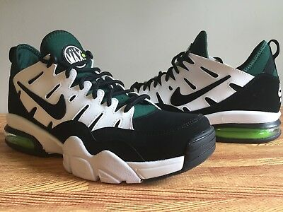 cf7d9b6b6a7 NIKE Men s Air Trainer MAX 94 Low Packer Black White Green 880995-001 Size  8.5