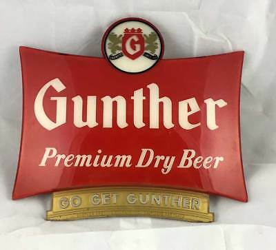 Gunther Premium Dry Beer Sign - Baltimore, MD