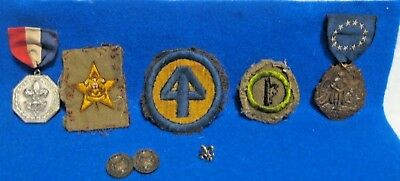 Vintage Lot Of Boy Scouts Of America Patches And Metals