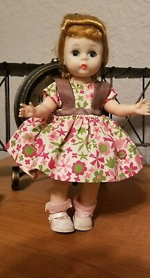 "Vintage Alexander-Kins 8"" walker in tagged VOGUE doll outfit"