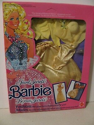 Jewel Secrets Barbie Fashion, NFRB, 1986
