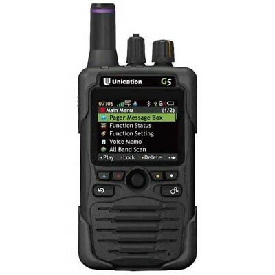 Unication G5 P25 VHF UHF 700/800 Pager Phase 2 ** DISCOUNTED FOR A LIMITED TIME