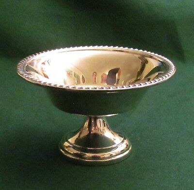 Vintage ART S CO Silverplate Candy Nut Dish S.P.C. 90
