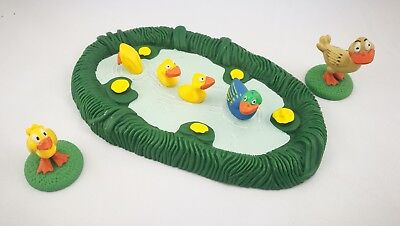 DeAgostini Bauernhof Ententeich mit Enten Farm Duck pond with ducks