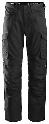 Snickers Service Trousers Work with Kneepad Pockets -6801
