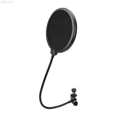 AE4D Black New Flexible Studio Microphone Windshield Mic Pop Filter Shield For S