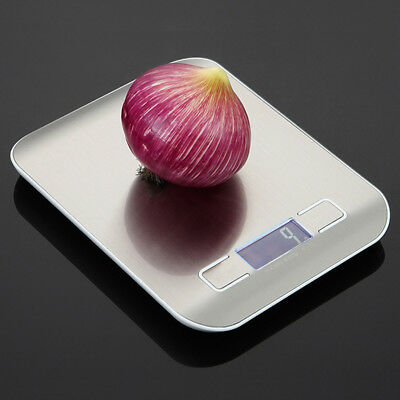 5kg/1g 10kg/1g Digital LCD Electronic Kitchen Scale Food Weighing Postal Scales