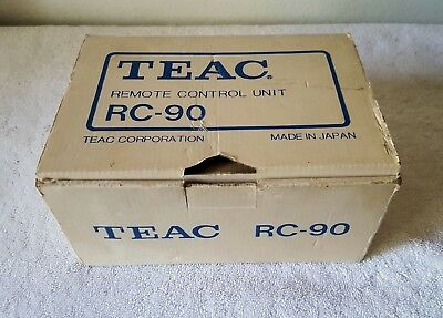 Teac RC-90 Reel to Reel Tape Machine Remote Control Unit