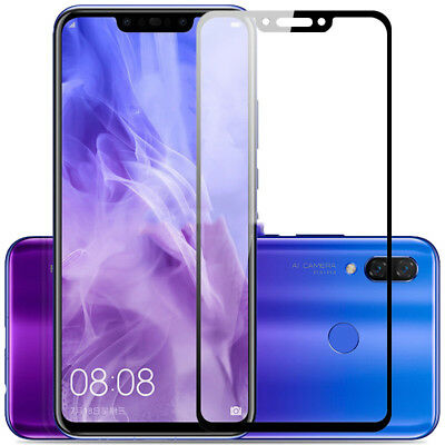 For Huawei Mate 20 Lite Full Cover Tempered Glass Screen Protector Anti-scratch