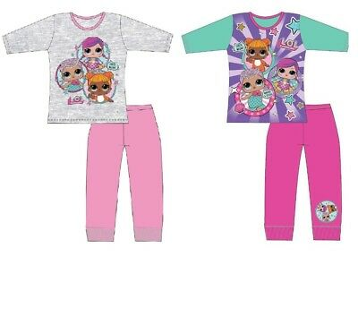 LOL Surprise Dance Nightwear Kids Girls Pyjamas Set Dolls Swing  4 -10 Years