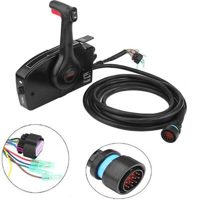 Mercury Outboard Engine Side Mount Remote Control Box With