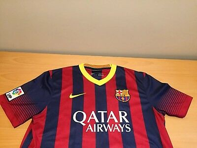 90745f242aa Nike Lionel Messi Barcelona FC #10 DriFit Soccer Jersey Mens L - FREE  SHIPPING