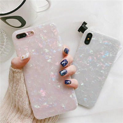 For Apple iPhone X 6/6S/7/8 plus Bling Glitter Sparkly Soft Gel Phone Cover Case