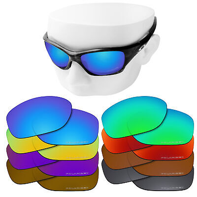 66fd52967f9b4 OOWLIT Replacement Lenses for-Oakley Pit Bull Sunglasses Polarized Etched