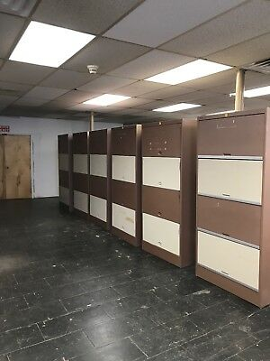 X LARGE Lateral Door Cabinet Storage Steel Very Good Condition 16+ Available LOT