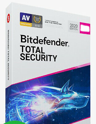 Bitdefender Total Security 2019 1 Device - 3 Year Activation Download Link
