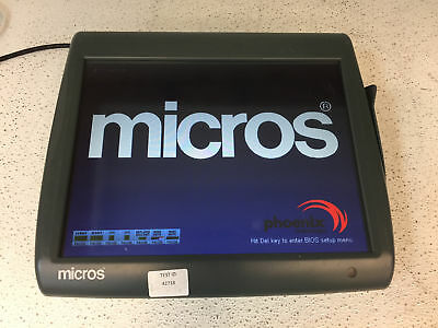 Micros Workstation 5A 400814-101 POS Touchscreen Computer POOR CONDI - TESTED