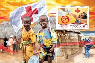 Togo - 2015 Fight Against Malaria - Stamp Souvenir Sheet - 20H-1132