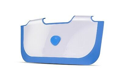 ** NEW ** BabyDam Bathwater Barrier | Baby Bath Tub | White/Blue Water Saving