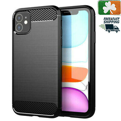 Brand NEW Rugged Armor Case For iPhone 5/6/7/8/X/11/Pro/Max Carbon Fiber Design
