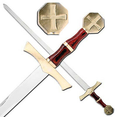 Crusader Knights Honor Cross Medieval Templar Holy Sword