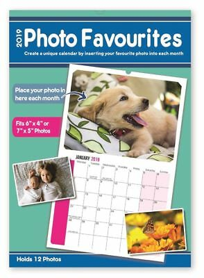PERSONALISE Your Calendar 2019 with Your Own Photos Each Month Calender New Year