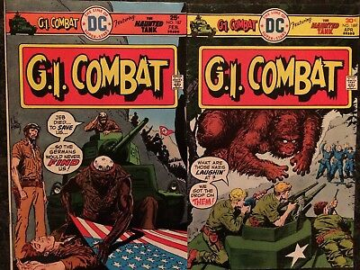 25 Issue Lot of G.I.Combat Comics (DC)- Bronze Age in Very Good Condition!