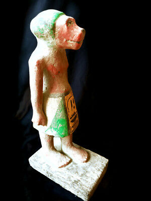 Baboon Egyptian Antiques Statue Ancient Civilisation Art