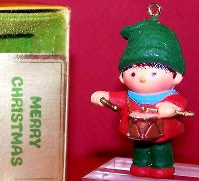 1978 NEW Hallmark Christmas Ornament DRUMMER BOY Little Trimmer QX1363 Not Used