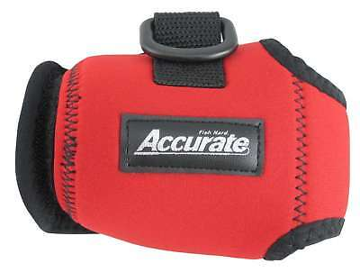 Accurate Conventional Reel Cover - Red - Size Extra Large